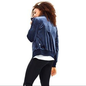 ADIDAS ORIGINALS Velvet Trefoil Track Jacket